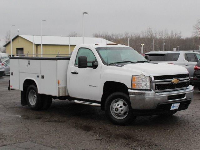 2011 Silverado 3500 Regular Cab 4x4,  Service Body #19C66TU - photo 17