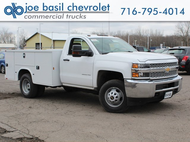 2019 Silverado 3500 Regular Cab DRW 4x4,  Knapheide Service Body #19C77T - photo 1