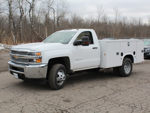 2019 Silverado 3500 Regular Cab DRW 4x4,  Knapheide Service Body #19C77T - photo 3