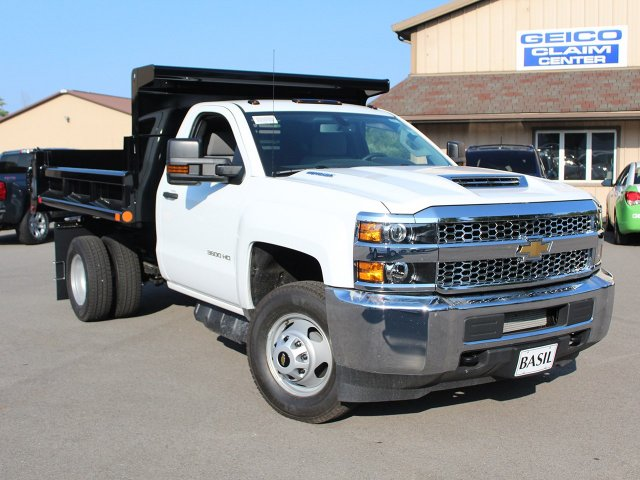 2019 Silverado 3500 Regular Cab DRW 4x4,  Air-Flo Dump Body #19C7T - photo 10