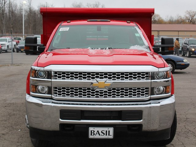 2019 Silverado 3500 Regular Cab DRW 4x4,  Air-Flo Dump Body #19C88T - photo 5
