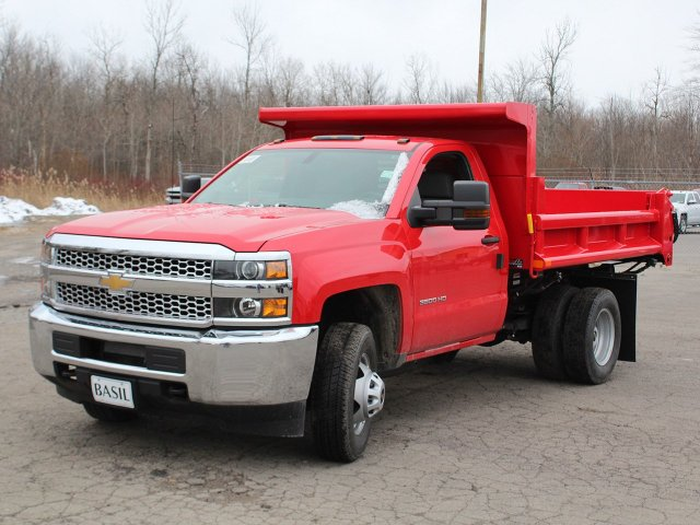 2019 Silverado 3500 Regular Cab DRW 4x4,  Air-Flo Dump Body #19C88T - photo 9