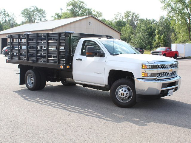 2019 Silverado 3500 Regular Cab DRW 4x2,  Knapheide Stake Bed #19C8T - photo 30