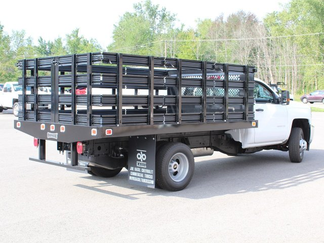 2019 Silverado 3500 Regular Cab DRW 4x2,  Knapheide Stake Bed #19C8T - photo 2