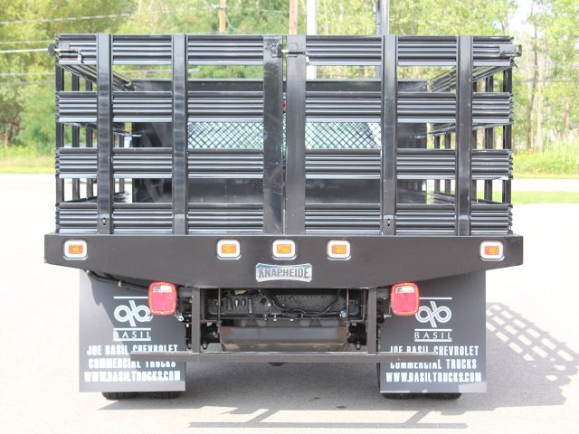 2019 Silverado 3500 Regular Cab DRW 4x2,  Knapheide Value-Master X Stake Bed #19C8T - photo 6