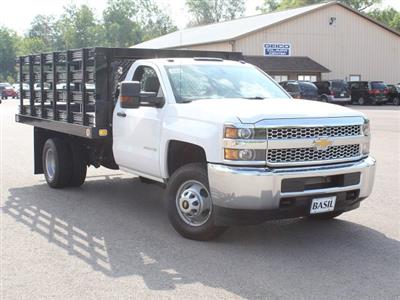2019 Silverado 3500 Regular Cab DRW 4x2,  Knapheide Value-Master X Stake Bed #19C8T - photo 10