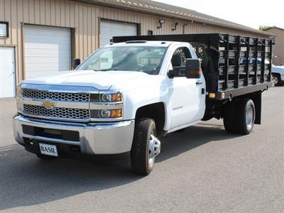 2019 Silverado 3500 Regular Cab DRW 4x2,  Knapheide Value-Master X Stake Bed #19C8T - photo 9