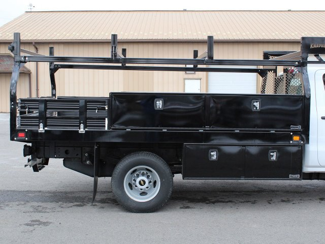 2019 Silverado 3500 Regular Cab DRW 4x4,  Knapheide Contractor Body #19C91T - photo 13