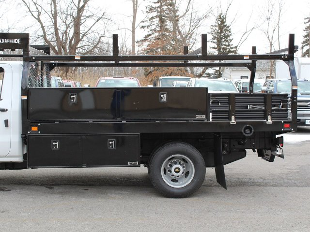 2019 Silverado 3500 Regular Cab DRW 4x4,  Knapheide Contractor Body #19C91T - photo 14