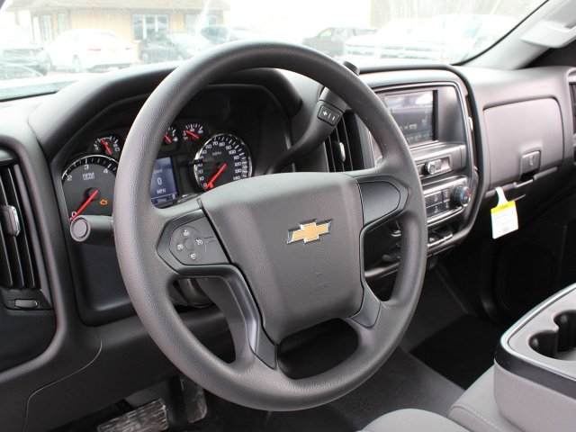 2019 Silverado 3500 Regular Cab DRW 4x4,  Knapheide Contractor Body #19C91T - photo 19