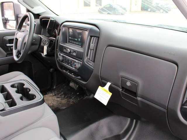 2019 Silverado 3500 Regular Cab DRW 4x4,  Knapheide Contractor Body #19C91T - photo 30