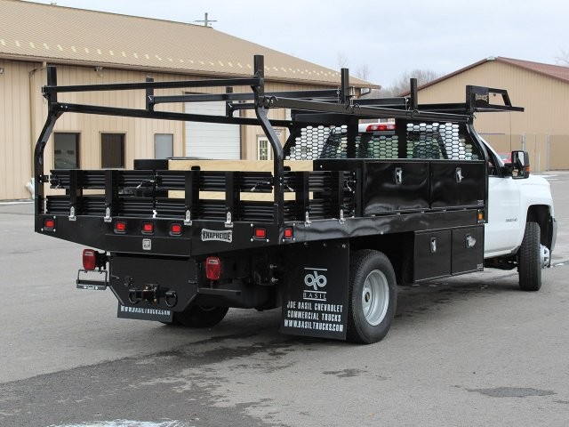 2019 Silverado 3500 Regular Cab DRW 4x4,  Knapheide Contractor Body #19C91T - photo 2