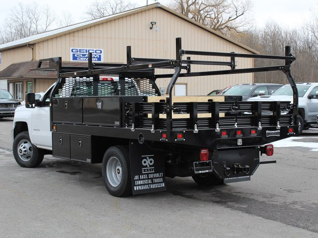 2019 Silverado 3500 Regular Cab DRW 4x4,  Knapheide Contractor Body #19C91T - photo 8