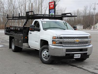 2019 Silverado 3500 Regular Cab DRW 4x4,  Knapheide Contractor Body #19C91T - photo 10