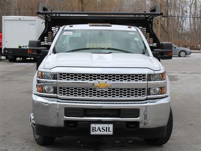 2019 Silverado 3500 Regular Cab DRW 4x4,  Knapheide Contractor Body #19C91T - photo 5