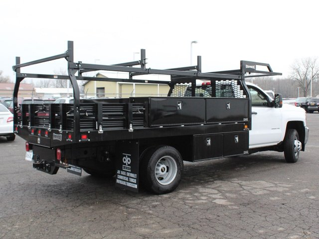 2019 Silverado 3500 Regular Cab DRW 4x4,  Knapheide Contractor Body #19C92T - photo 2