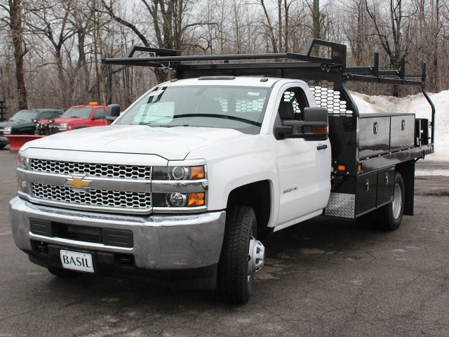 2019 Silverado 3500 Regular Cab DRW 4x4,  Knapheide Contractor Body #19C92T - photo 9