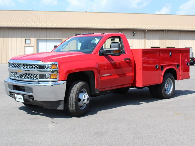 2019 Silverado 3500 Regular Cab DRW 4x4,  Knapheide Standard Service Body #19C9T - photo 3