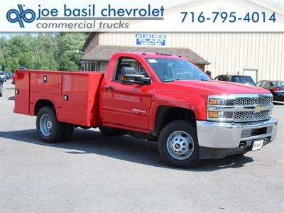 2019 Silverado 3500 Regular Cab DRW 4x4,  Knapheide Standard Service Body #19C9T - photo 1