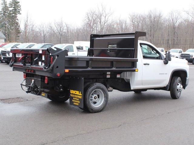 2020 Silverado 3500 Regular Cab DRW 4x4, Air-Flo Dump Body #20C130T - photo 1