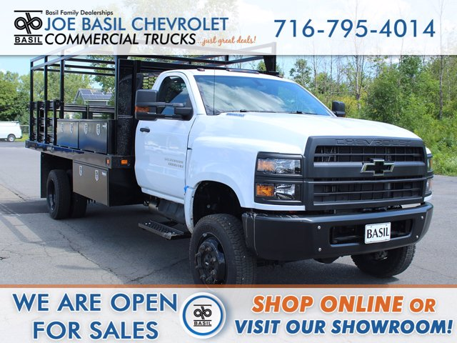 2020 Chevrolet Silverado 6500 Regular Cab DRW 4x4, Platform Body #20C132T - photo 1