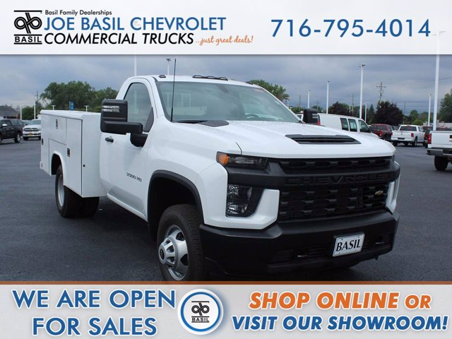 2020 Chevrolet Silverado 3500 Regular Cab DRW 4x4, Reading Service Body #20C182T - photo 1