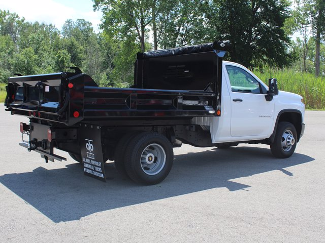 2020 Chevrolet Silverado 3500 Regular Cab DRW 4x4, Dump Body #20C183T - photo 1