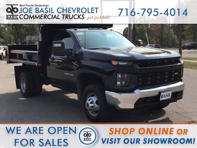 2020 Chevrolet Silverado 3500 Regular Cab DRW 4x4, Air-Flo Dump Body #20C204T - photo 1