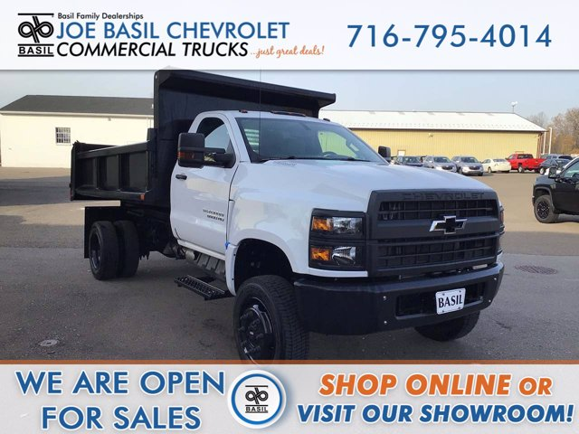 2020 Chevrolet Silverado 5500 Regular Cab DRW 4x4, Air-Flo Dump Body #20C207T - photo 1