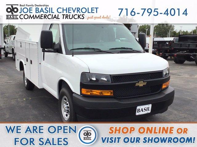 2020 Chevrolet Express 3500 RWD, Knapheide Service Utility Van #20C217T - photo 1