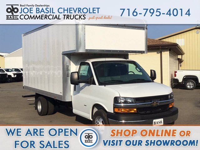 2020 Chevrolet Express 3500 RWD, Cutaway Van #20C221T - photo 1