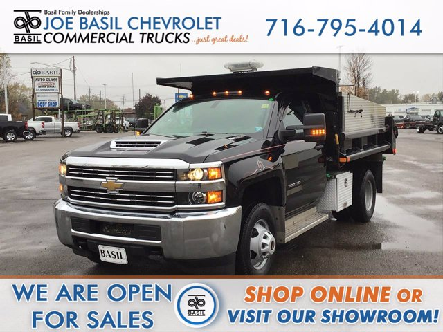 2018 Chevrolet Silverado 3500 Regular Cab DRW 4x4, Dump Body #20C225TU - photo 1