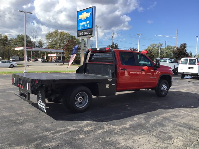 2020 Chevrolet Silverado 3500 Crew Cab DRW 4x4, Reading Platform Body #20C226T - photo 1