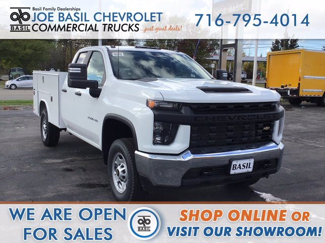 2020 Chevrolet Silverado 2500 Double Cab 4x4, Reading Service Body #20C230T - photo 1