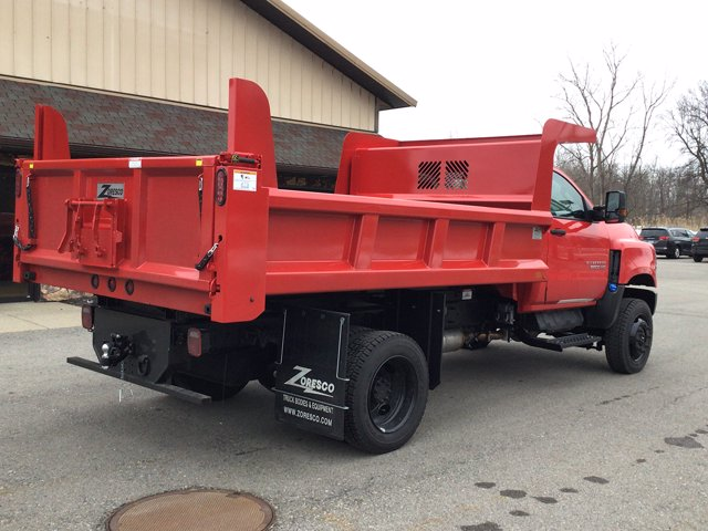 2020 Chevrolet Silverado 6500 Regular Cab DRW 4x4, Zoresco Equipment Dump Body #20C233T - photo 1