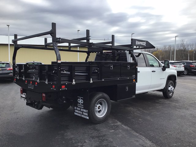 2020 Chevrolet Silverado 3500 Crew Cab DRW 4x4, Knapheide Contractor Body #20C251T - photo 1