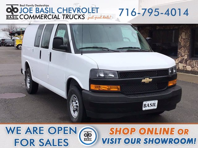2020 Chevrolet Express 2500 4x2, Masterack Upfitted Cargo Van #20C273T - photo 1