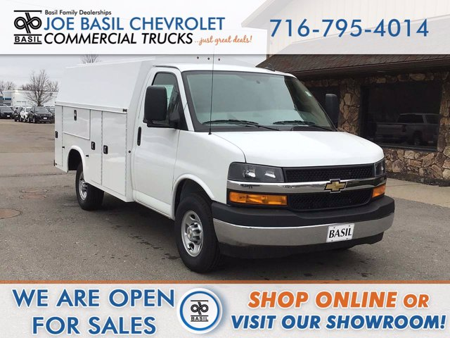 2020 Chevrolet Express 3500 4x2, Service Body #20C280T - photo 1
