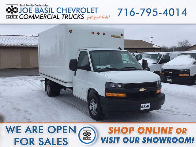 2020 Chevrolet Express 3500 4x2, Cutaway Van #20C303TD - photo 1
