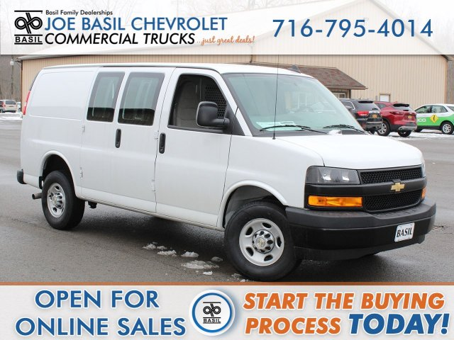 2020 Chevrolet Express 2500 4x2, Adrian Steel Upfitted Cargo Van #20C65T - photo 1