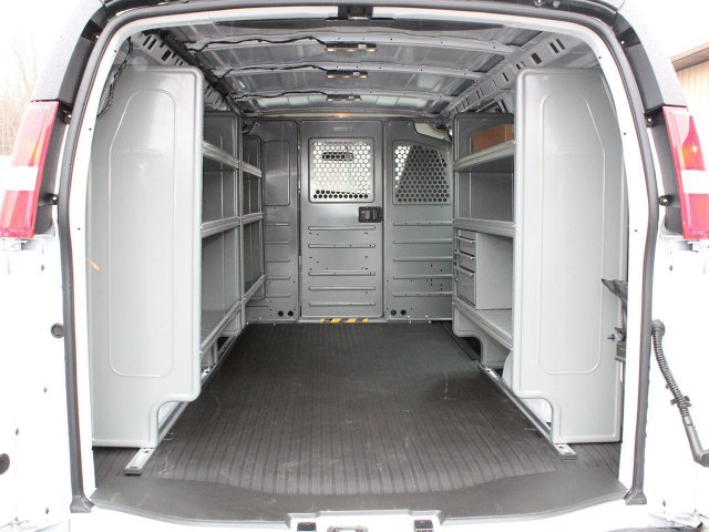 2020 Express 2500 4x2, Adrian Steel Commercial Shelving Upfitted Cargo Van #20C69T - photo 29