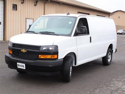 2020 Express 2500 4x2, Adrian Steel Commercial Shelving Upfitted Cargo Van #20C71T - photo 12