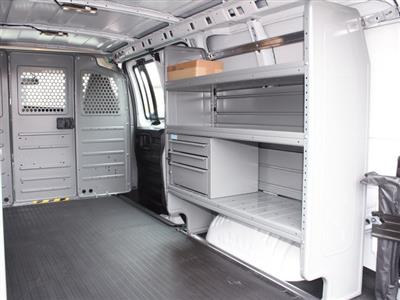 2020 Express 2500 4x2, Adrian Steel Commercial Shelving Upfitted Cargo Van #20C71T - photo 22