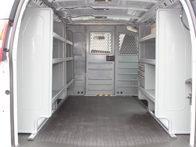 2020 Express 2500 4x2, Adrian Steel Commercial Shelving Upfitted Cargo Van #20C72T - photo 2