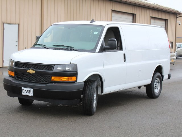 2020 Express 2500 4x2, Adrian Steel Commercial Shelving Upfitted Cargo Van #20C72T - photo 4