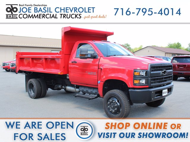 2020 Chevrolet Silverado 6500 Regular Cab DRW 4x4, Cab Chassis #20C77T - photo 1