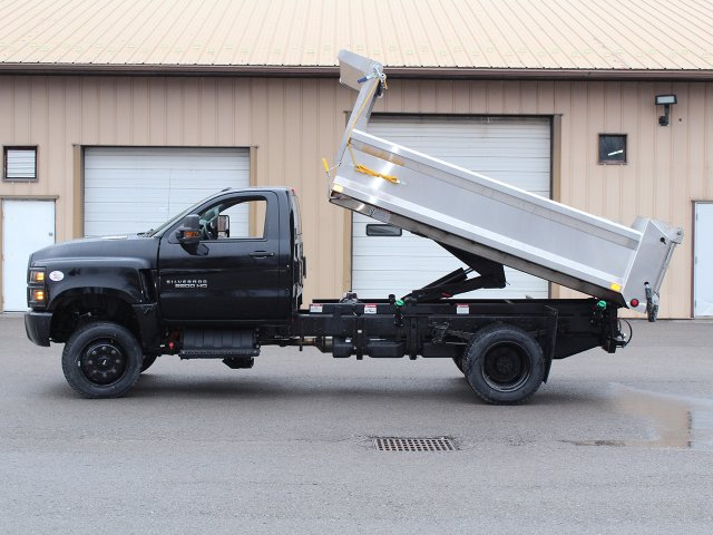 2020 Silverado 6500 Regular Cab DRW 4x4, Air-Flo Pro-Class Dump Body #20C78T - photo 14
