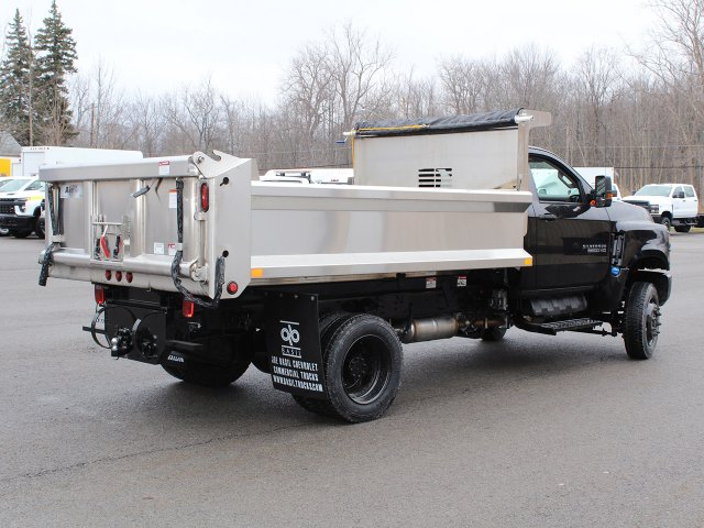 2020 Silverado 6500 Regular Cab DRW 4x4, Air-Flo Pro-Class Dump Body #20C78T - photo 2