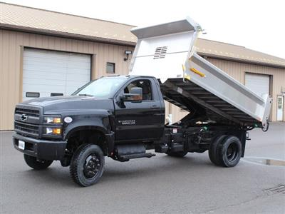 2020 Silverado 6500 Regular Cab DRW 4x4, Air-Flo Pro-Class Dump Body #20C78T - photo 10