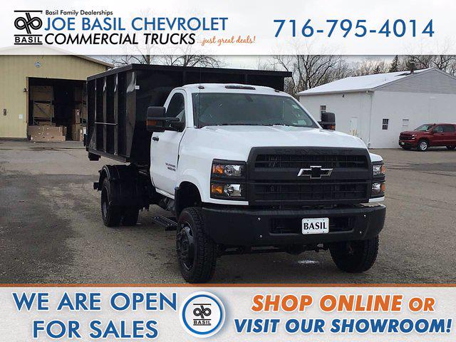2021 Chevrolet Silverado 6500 Regular Cab DRW 4x4, Switch N Go Drop Box Hooklift Body #21C103T - photo 1